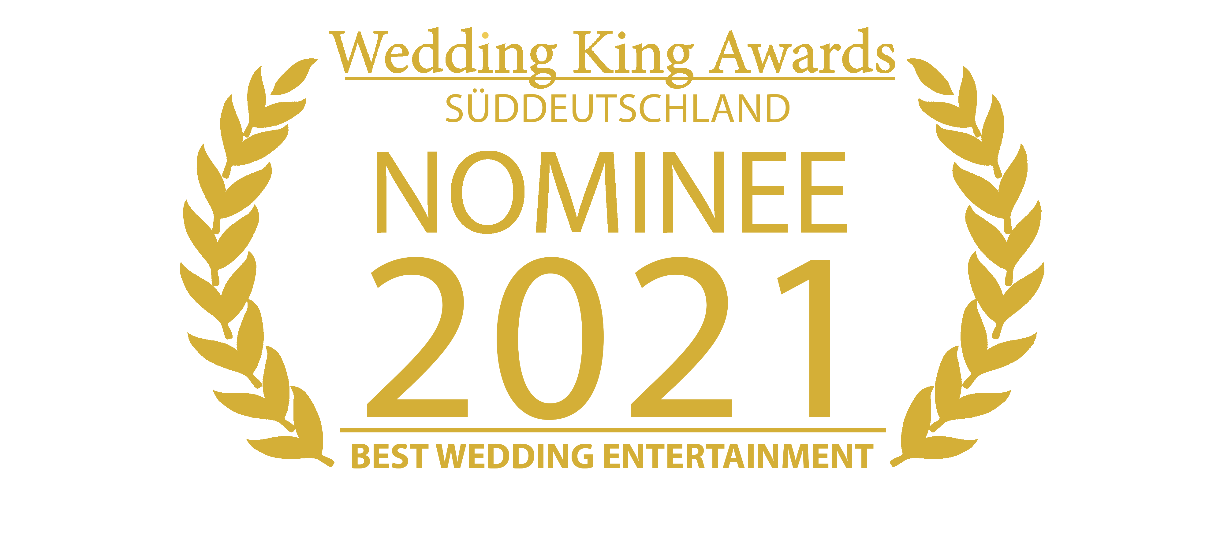 Wedding King Awards-NOMINEE_Entertainment Kai Hildenbrand